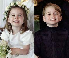 19/05-2018 Princess Charlotte and Prince George