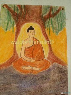 Age 11 ~ Ancient India ~ Buddha ~ main lesson book