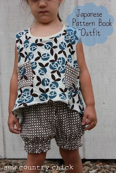 Sew Country Chick- Farmhouse Couture: More Japanese Pattern Shorts