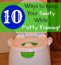 Keep your sanity during the trying time of potty training with these 10 tips! - Anchored In His Grace #kids #potty training