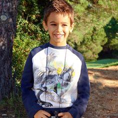 Cherokee Boys Dinosaur Sweatshirt