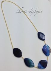 43 best fashion diy jewelry images on pinterest necklaces diy diys do it yourself agate sapphire statement necklace diy solutioingenieria Choice Image