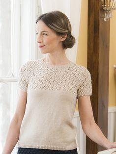 Nordic Yarns and Design since 1928 Summer Knitting, Lace Knitting, Knitting Stitches, Knitting Needles, Knitting Basics, Diy Tops, Knit Fashion, Knit Patterns, Knit Crochet