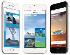 Der Marktführer für Kreuzfahrten in Deutschland AIDA Cruises hat erneut eine mobile App für iPhone und Android Smartphones aufgelegt. Die neue Generation beinhaltet erstmals einen Live-Feed von Bor...