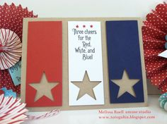 red, white, & blue stars.  nice for patriotic holiday to Veteran's home patients!