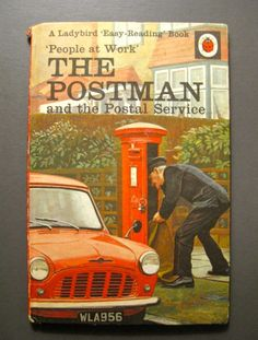 Lovely copy of Ladybird book The Postman and the Postal Service One of the People at Work series of books from the (series Loads of lovely pictures and information A Ladybird Easy-Reading book Great condition Ex Libris, Easy Reading Books, Ladybird Books, Going Postal, Book People, Working People, Lost Art, Mail Art, Vintage Books