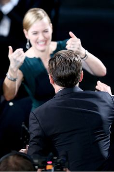 Leonardo DiCaprio y Kate Winslet | SAG Awards 2016