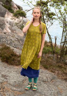 """Mekko """"Roze"""" mikromodaalia/elastaania – Keskikesän mallisto – GUDRUN SJÖDÉN - vaatteita verkossa ja postimyynnissä"""