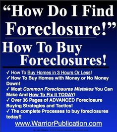 buy rent foreclosures 3 million net worth 22000 net per month in 7 yearsyou can too