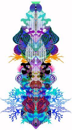 Future projects sneaky peak SS/14 Mirella Bruno Print Designs © 2013.