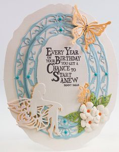 Rhoslyn (Another Day, Another Card) Birthday Cards For Women, It's Your Birthday, Tonic Cards, Studio Cards, Bday Cards, Die Cut Cards, Pretty Cards, Kids Cards, Cardmaking