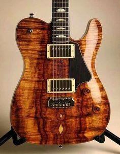 Gorgeous Telecaster style guitar.