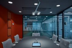 LIVESPORT – Offices Like A Machine Driven By Pilots - Picture gallery 1 Office Interior Design, Office Interiors, Architectural Technologist, Cafe Seating, Dynamic Design, Acoustic Panels, Atrium, Prague, Colorful Interiors