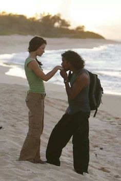 Kate and Sayid - Lost