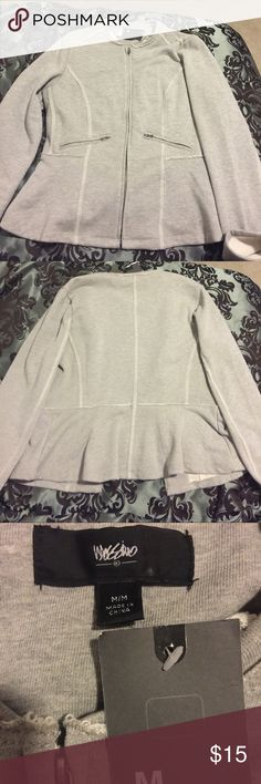 Brand New Gray Workout Sweatshirt-Tag Still On! This sweatshirt has never been worn! It's great for a chilly fall day or a nice work out! Very comfortable! Brand new! Got it at Target. Mossimo Supply Co Tops Sweatshirts & Hoodies