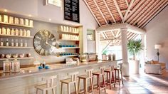 The coffee connoisseur's type of lobby at Lux Belle Mare, Mauritius