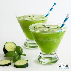 Cucumber Basil Daiquiri
