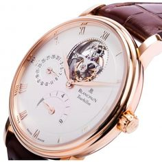 5d168cca6adbd Blancpain Villeret Tourbillon Date Power Reserve Mens Watch 6025-3642-55B  Beautiful Watches