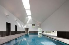 paul + o architects: indoor pool