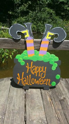 "Great Pictures Items similar to Witch pot door hanger witch door hanger halloween door hanger on Etsy Suggestions Your individual door hanger Sure, the classic is obviously the door pendant, where on leading ""do Halloween Classroom Door, Halloween Yard Art, Halloween Wood Crafts, Halloween Door Hangers, Halloween Crafts For Toddlers, Halloween Porch Decorations, Halloween Birthday, Halloween Activities, Halloween Projects"
