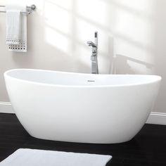 Winifred Resin Freestanding Tub - Bathroom
