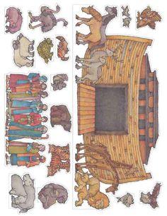Noah's Ark (character cutouts)