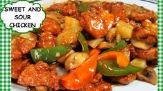 Chinese Sweet and Sour Chicken Stir Fry Recipe Restaurant Style Beef Potato Casserole, Hamburger And Potatoes, Good Meatloaf Recipe, Best Meatloaf, Baked Lemon Garlic Chicken, Chicken Patty Recipes, Crispy French Fries, Recipe Tonight, Chicken Patties