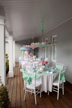 Sweet Porch Party love this