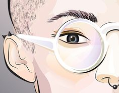 "Check out new work on my @Behance portfolio: ""Graphic portrait"" http://be.net/gallery/31965157/Graphic-portrait"