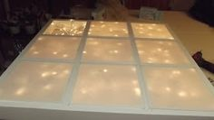 Lighted headboard made for Vivian's room in another Designing 4 Hope room makeover. Source: Shelterness This is the or.