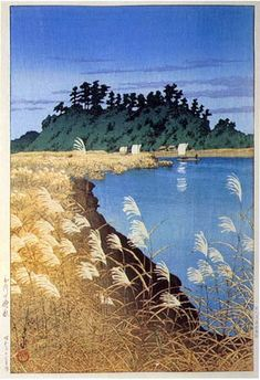 Kawase Hasui (1883-1957): Late Autumn, Ichikawa, 1930