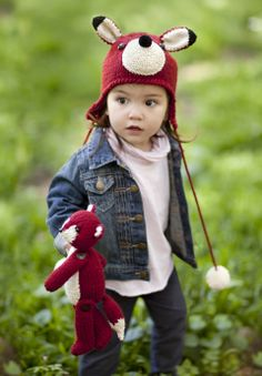 Red Fox Hat & Toy | crochet today