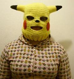 Pikachu skimask