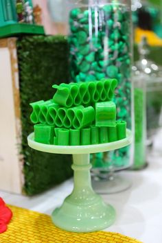 Little Big Company | The Blog: Wizard of Oz Party- this gorgeous Oz tastic party is by Sweetpickings Candy Buffets