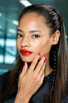 Smalti P/E 2014: rosso ciliegia #nails