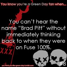 You Know Your A #GreenDay Fan When #8