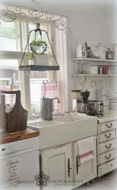 ♡ -- those cabinets are a little to rustic, they aren't even level