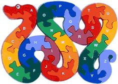 letter snake puzzle