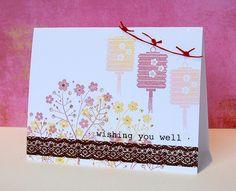 cute washi tape card  http://wishywashi.com for the tape