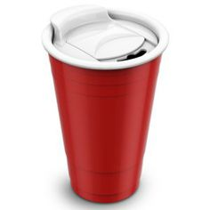 The plastic 16 oz. red tumbler is ubiquitous. Any tailgate party, any fraternity bash, any office sendoff, there they are, the red plastic cups, and after, there they go, right into the trashcan. But not this one...