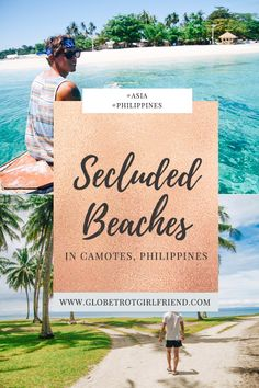 Exploring the powder-white sand and crystal-clear blues of the secluded beaches in Camotes Islands, Philippines. Philippines Beaches, Philippines Travel, Bucket List Destinations, Travel Destinations, Camotes Island, Cebu City, Secluded Beach, Happy Anniversary, Beautiful Beaches