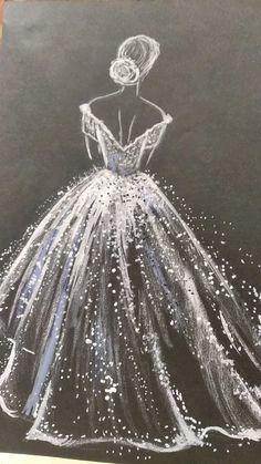 Ballerina Art, Ballet Art, Whats Wallpaper, Black Paper Drawing, Illustration Mode, Silhouette Art, Diy Canvas Art, Art Drawings Sketches, Acrylic Art