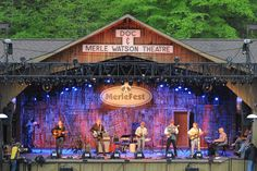 8. Merlefest - The South's Most Iconic Music Venues and Festivals - Southernliving. Founded by the late (and legendary) Doc Watson, Merlefest is named after his son, Eddy Merle Watson, who died tragically in a 1985 farm accident. These days, it's the biggest fundraising event for Wilkes Community College, where the event is also held, in Wilkesboro, North Carolina. The lineup is decidedly country-leaning with notes of bluegrass, jazz, and folk. The likes of Brandi Carlile, Sam Bush, and Old…