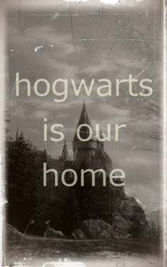 And I will be waiting for Hogwarts..for the fogs to lift ..its there in the horizon.It is as certain to me as heaven is to some people..its my happy place.Its not my place of escape.Its the place where I can be me,the place that makes me want to be a better version of myself..