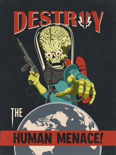 Mars Attacks. Oh how I loved this. It may not be classic but so funny