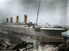 Titanic a colori