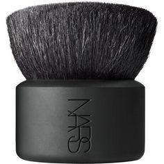 NARS Botan Kabuki Brush ($70) ❤ liked on Polyvore featuring beauty products, makeup, makeup tools, makeup brushes, beauty and nars cosmetics