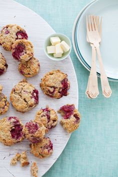 Cannelle et Vanille: Gluten-Free Raspberry and Oat Scones