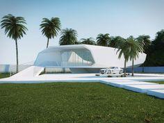 Wave House by Gunes Peksen.  Mercedes SLS