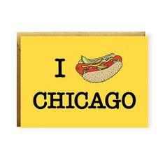 I Hot Dog Chicago